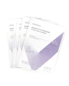 Innisfree Double Fit Lifting Mask Moisturising 17g+19g x 5