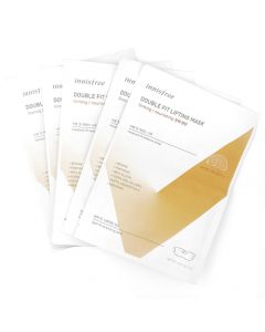 Innisfree Double Fit Lifting Mask Nourishing 17g+19g x 5