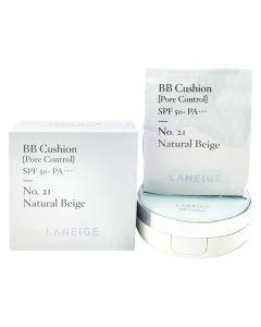 Laneige Bb Cushion Pore Control SPF50+ Pa+++ N21 15g x 2