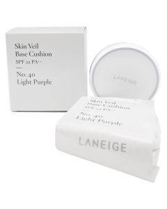 Laneige Skin Veil Base Cushion SPF22 Light Purple 15g x 2